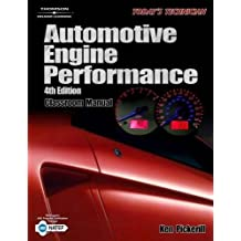 Today's Technician: Automotive Engine Performance