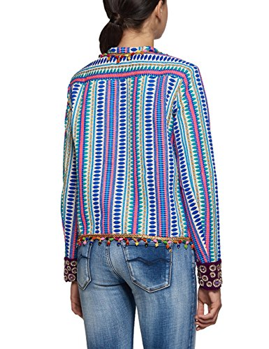 REPLAY, Chaqueta para Mujer Multicolor (Multicolour)