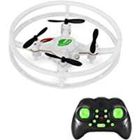 Mini Drone Quadcopter, MakeTheOne RC Nano Drone RTF 4CH 2.4GHz 4 Axis Gyro UFO Space Trek 360° Flip Headless Mode, Durable Indoor Outdoor Flying Toys for Kids Beginners Training