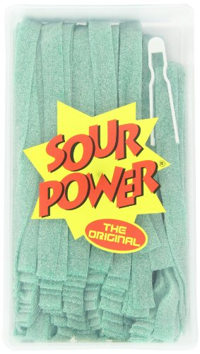 Sour Power Belts, Green Apple (150-Count Belts), 42.3-Ounce Tub
