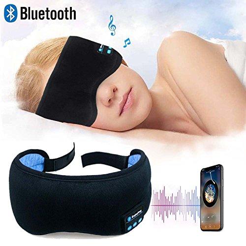 Bluetooth Sleeping Eye Mask Headphones Wireless Music Bluetooth Sleep Eye Patch Hands-free Headset Adjustable Travelling Blinkers Washable