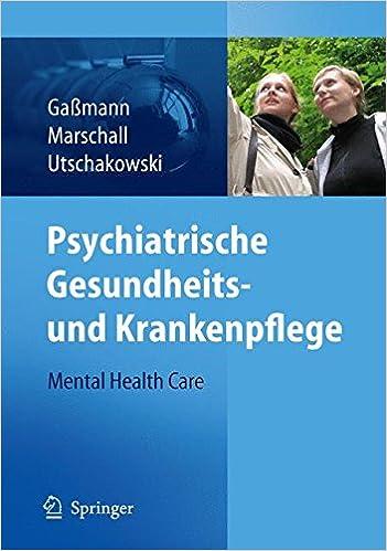 Book Psychiatrische Gesundheits- und Krankenpflege - Mental Health Care
