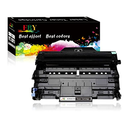 EBY Compatible Drum Replacement Brother DR360 Drum Unit DCP-7030 DCP-7040 HL-2140 2150N HL-2170W MFC-7340 MFC-7840W 7440N MFC-7345N Printer (Black, 1-Pack)