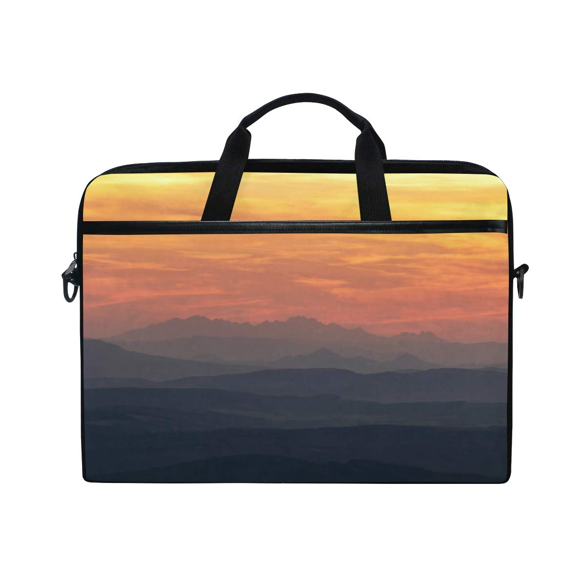 Suitable for 15 Inch Computers Slovakia View Mens and Womens Computer Bags Handbags Briefcases Shoulder Bags