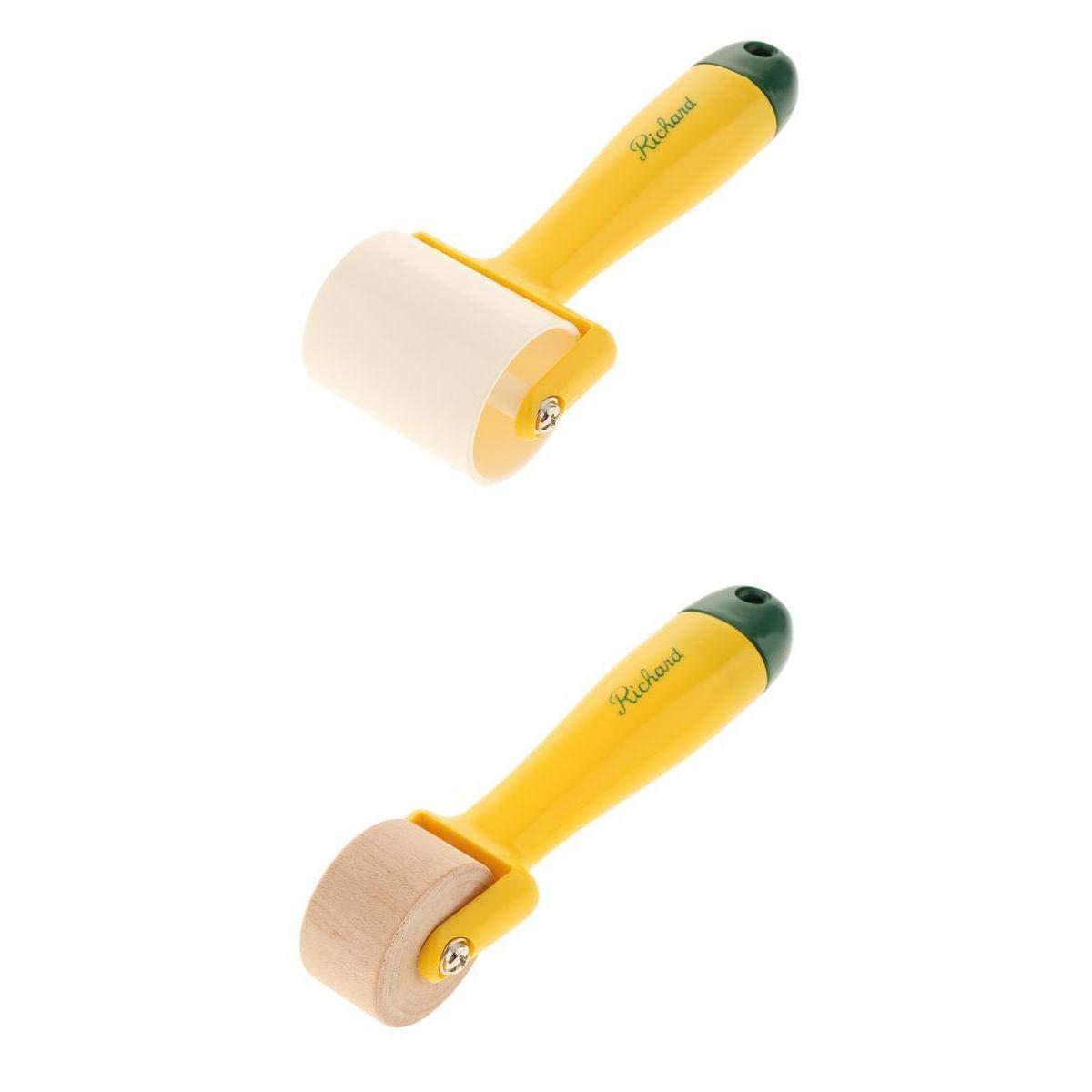Papel Tapiz de Tela Telas No Tejidas 2Unids Rodillos para Papel Pintado para Papel Tapiz Ordinario Papel Tapiz Engrosado