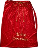 Fun World Costumes Santa Sack, Red/Gold, 30