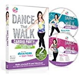 DANCE That WALK - CARDIO PARTY - Low Impact Walking Workout Pack with Two Easy 5000 Step DVDs (NTSC)