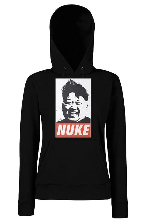 TRVPPY Herren Sweater Pullover Modell Nuke, Schwarz, M