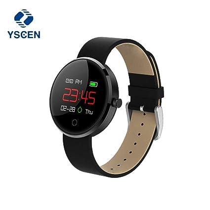Amazon.com: yscen dm78 Smartwatch moda deporte hombres ...