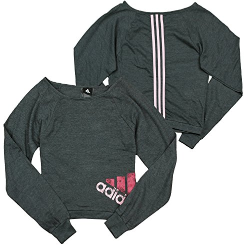 - Adidas Youth Big Girls Wardrobe Dance Sweatshirt