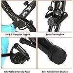 ANCHEER-Cyclette-Pieghevole-da-Fitness-10-Livelli-di-Resistenza-MagneticaSedile-Ampio-e-Confortevole-Bicicletta-per-Esercizio-da-Interni-Supporto-per-TabletMonitor-Digitale
