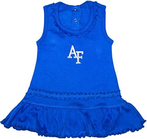 United States Air Force Academy Falcons Ruffled Tank Top Dress with Bloomer Set