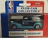 Vancouver Grizzlies 1995 Matchbox Diecast '39 Chevy Sedan NBA 1:63 Scale Collectible Car Australia Release Club Car