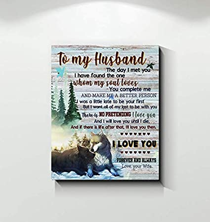 Amazon.com: Wife to Husband There is No Pretending I Love
