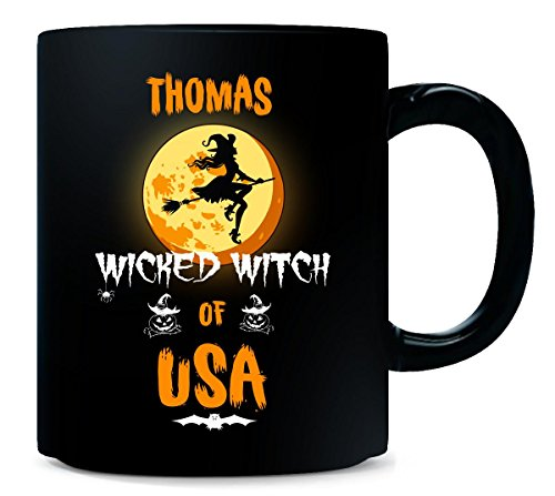 Thomas Wicked Witch Of Usa. Halloween Gift - Mug