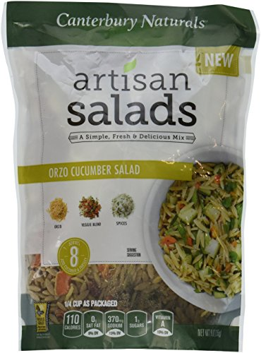 Canterbury Naturals Orzo Cucumber Salad, 9 Ounce