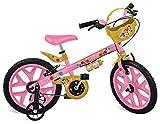 Bicicleta Aro 16 ´ Princesas Disney Bandeirante Rosa