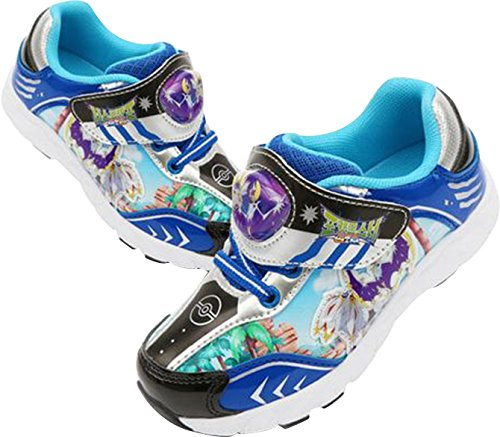 Joah Store Pokémon Sun and Moon Boy's Light Up Sneakers Blue Shoes (Parallel Import/Generic Product) (11 M US Little - Price Usps International Shipping