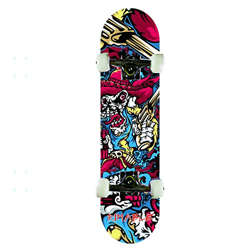 Great Deal! Rimable Complete Maple Skateboard 31 Inch