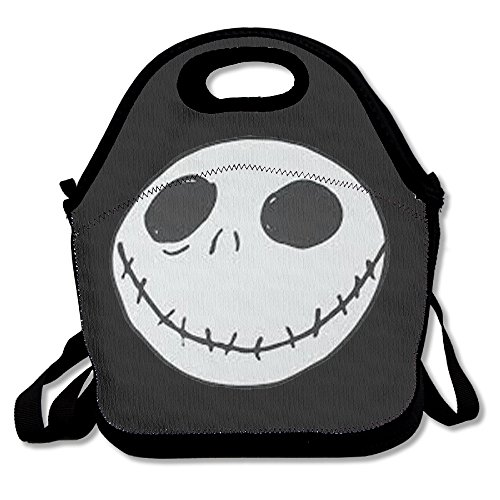 Before Costumes Lock Shock Nightmare And Barrel Christmas (Black The Nightmare Before Christmas2 Unisex Lunch Bags For Woman Man)