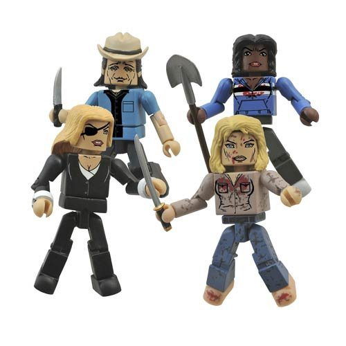 Diamond Select Toys Kill Bill: Deadly Vipers Minimates Box Set Action Figure