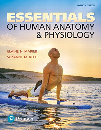 134394194 - Essentials of Human Anatomy & Physiology Plus Mastering A&P with Pearson eText -- Access Card Package (12th Edition)