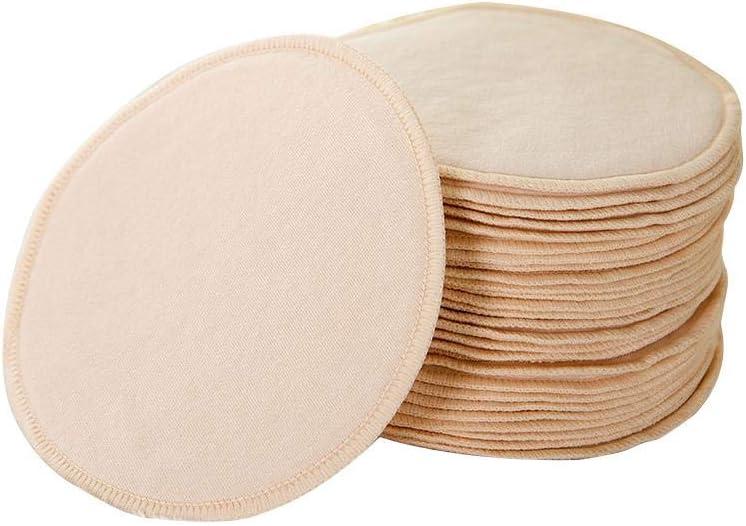 Protector Para Lactancia Lavables, 10pcs Algodón Discos ...