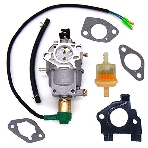 - FitBest Carburetor w / Insulator Fuel Filter Gaskets for EB6500X EB6500SX EB7000I EM5000SX EM6500SX Chinese 182F 188F Generator Engine Carb
