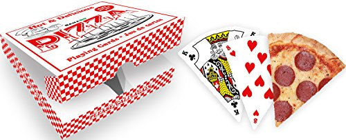 GAMAGO Pizza Playing Cards, Red