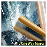 BDF S4MS15 Window Film Security and One Way Mirror Silver 4 Mil (60in X 25ft)