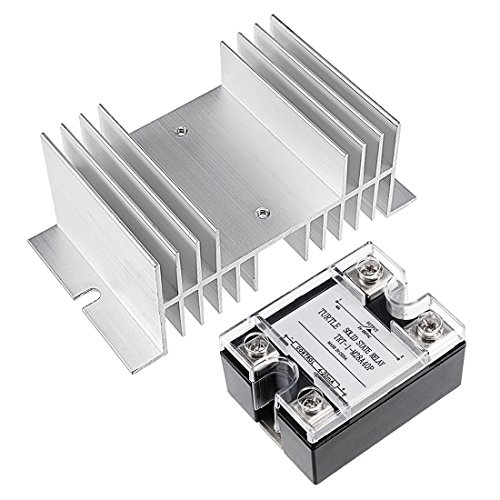 uxcell TRT-1-M28A40P+MW-W-70 4-20mA Input DC 24-280V 40A Output Single Phase Solid State Relay Module