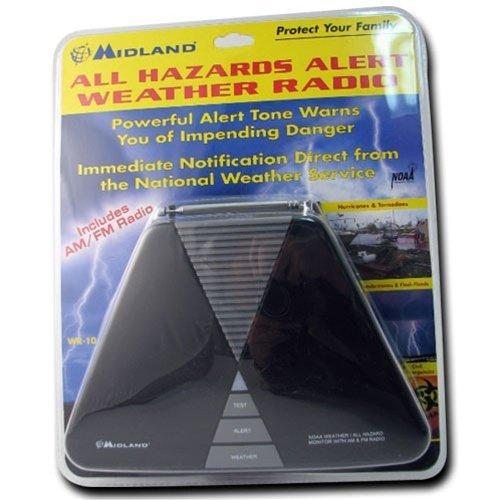 Midland C-68WR10 AM/FM All Weather Alert Weather Radio