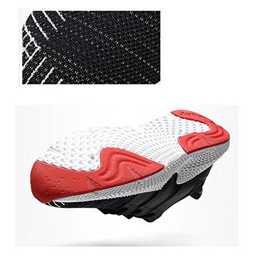 Hommes Fly Tissage Randonnée Trekking Chaussures Slip Sur Sports de Plein Air Camping Sneaker Casual Marcher Mocassins Chaussures Printemps Hommes Confort Chaussures GAOLIXIA