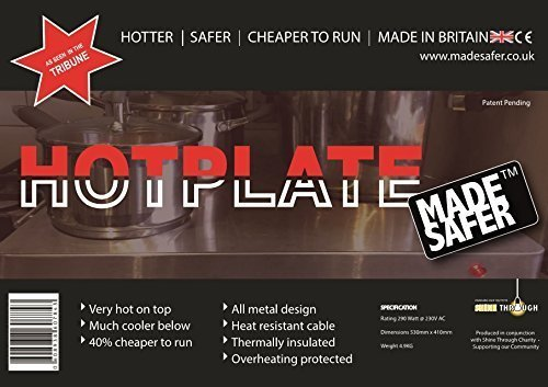 Hotplate MadeSafer Made Safer Limited MS001