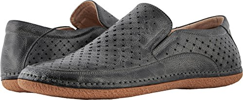 Stacy Adams Mens Northpoint Moe Toe Style De Conduite Slip-on Mocassin Gris