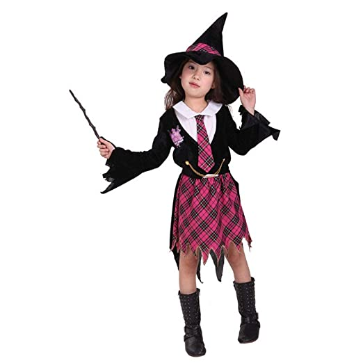 Disfraces de Halloween los niños Las niñas de la Bruja del ...