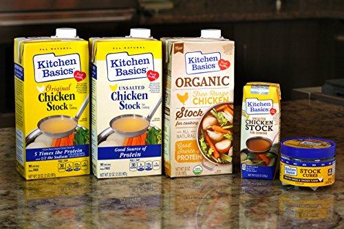 Kitchen Basics All Natural Unsalted Chicken Stock, 32 fl oz