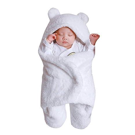 Diadia - Manta de algodón para bebé recién Nacido, Saco de Dormir Muy cómodo y