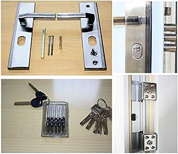 N73w, vivienda puerta puertas de Seguridad Puerta para puertas blanco exterior/izquierda 08 - con 95 x 205 cm ...