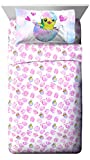 Jay Franco Hatchimals 3 Piece Twin Sheet Set -Super Soft Kid's Bedding Features Hatchimal Characters - Fade Resistant Polyester Microfiber Sheets (Official Hatchimals Product)