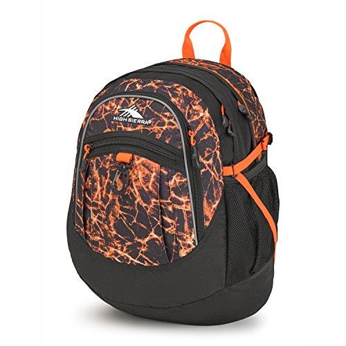 High Sierra Fatboy Backpack, Fireball/Black/Electric -
