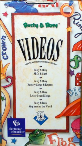 Rusty & Rosy  : Boxed Set : ABC & Such, Nursery Songs & Rhymes, Letter Sound Songs, and Sing Around the World.