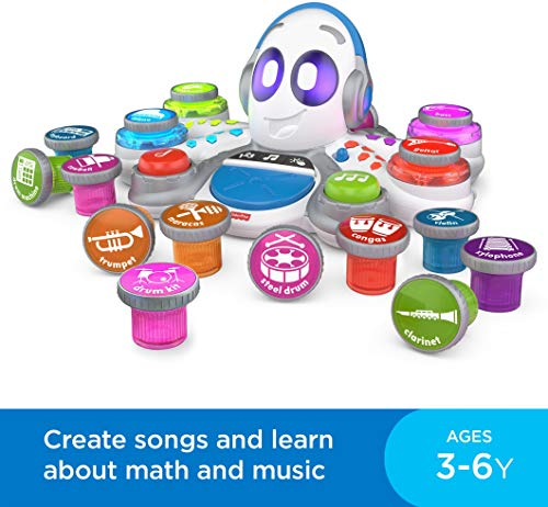 51UIBaPOsOL - Fisher-Price Think & Learn Rocktopus, Musical Toy for Preschoolers, Multicolor
