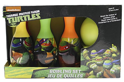 What Kids Want Teenage Mutant Ninja Turtles Licensed Bowling Set (Bowling Ball Set For Kids compare prices)