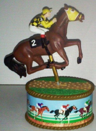 Horse and Jockey Music Box]()