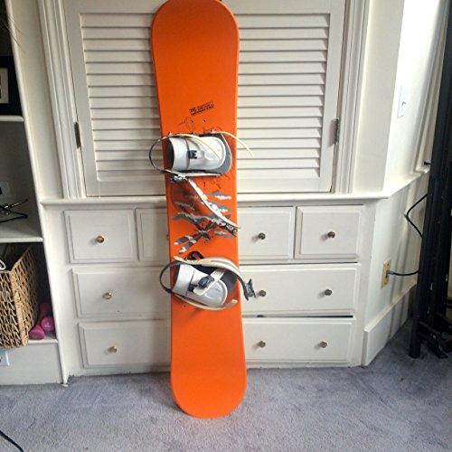 [Forum Snowboard, Orange, 143cm] (Forum Freestyle Snowboard)
