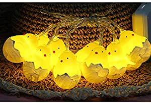 String Lights Battery Operated,Lovely Animal Shape Bedroom Light with 10 Lights Perfect Gift for Kids