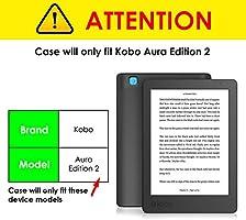 Forefront Cases Kobo Aura Edition 2 (Modelo 2016) Funda Carcasa ...