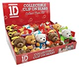 Play Visions 1D Mini Bears with Clips Plush Pillow, 6