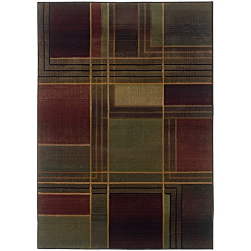 Oriental Weavers Kharma-II 1330G Area Rug, 2' x 3', Green